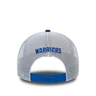 New Era NBA GS Warriors HWC Nights A-Frame Trucker 9FORTY Cap ''Blue''