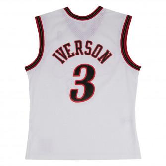 M&N NBA Philadelphia 76ers Home 2000-01 Swingman Jersey ''Allen Iverson''